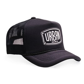 Boné Urban Black Trucker