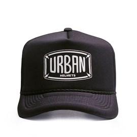 Boné Urban Helmets Black Trucker