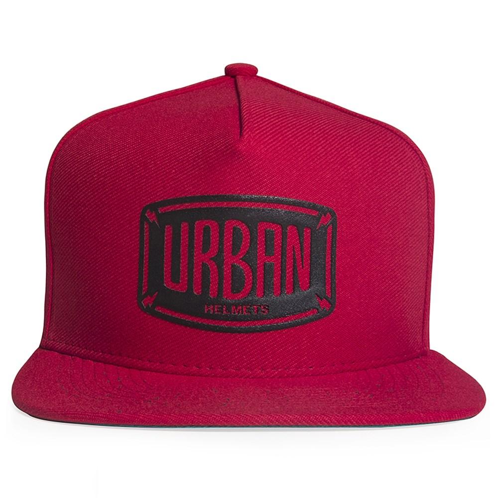 Boné Urban Helmets Red Snapback