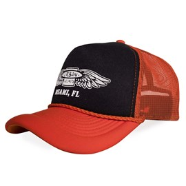 Boné Urban Orange Fly Trucker