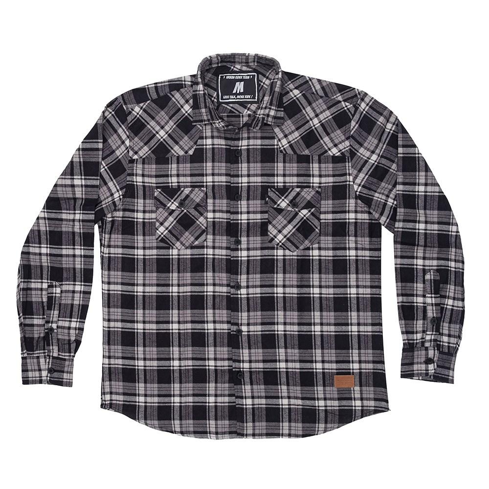 Camisa Flanela Urban Gray