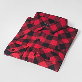 Camisa Flanela Urban Red
