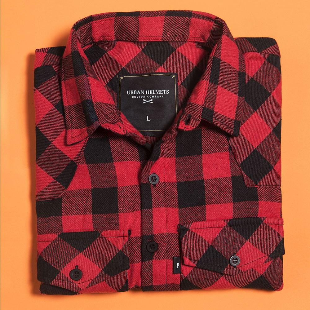 Camisa Flanela Urban Red