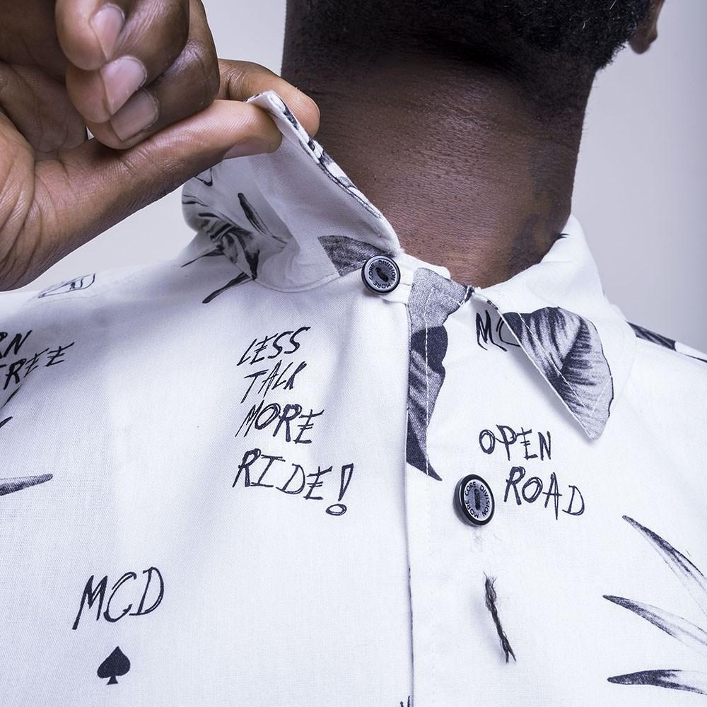Camisa Full Print Collab Urban MCD Branco