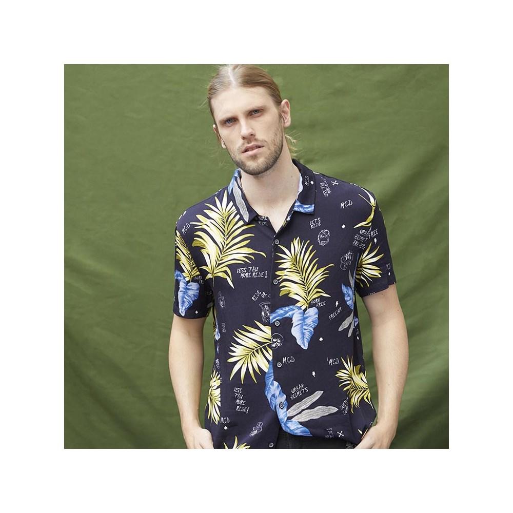Camisa Full Print Collab Urban MCD Preto