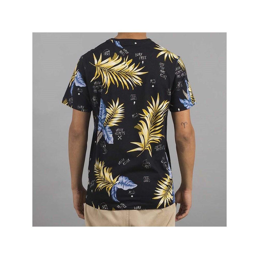 Camiseta Full Collab Urban MCD Preto