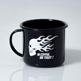 Caneca Urban Black Fire Skull