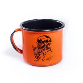 Caneca Urban Summer Skull Orange