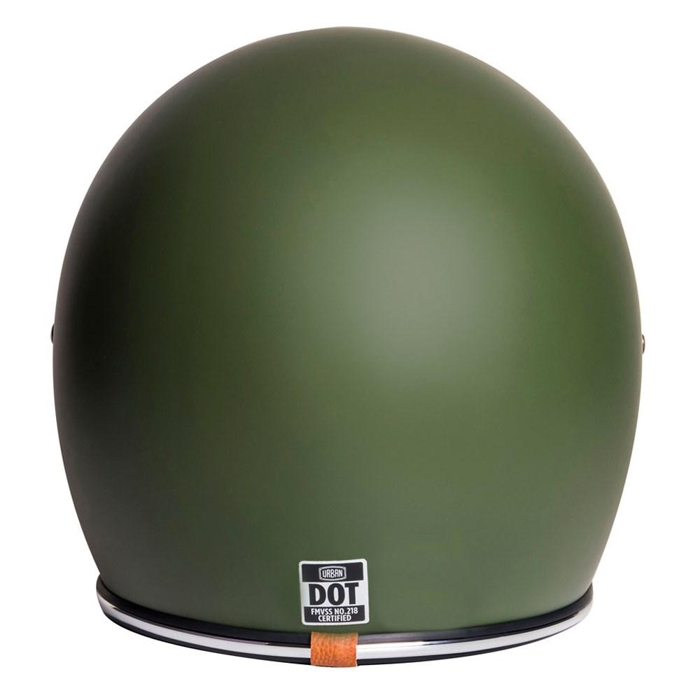 Capacete Urban Bigbore Army Green Vintage