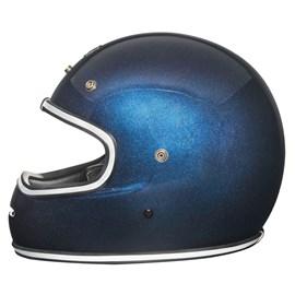 Capacete Urban Bigbore Blue Flake Vintage