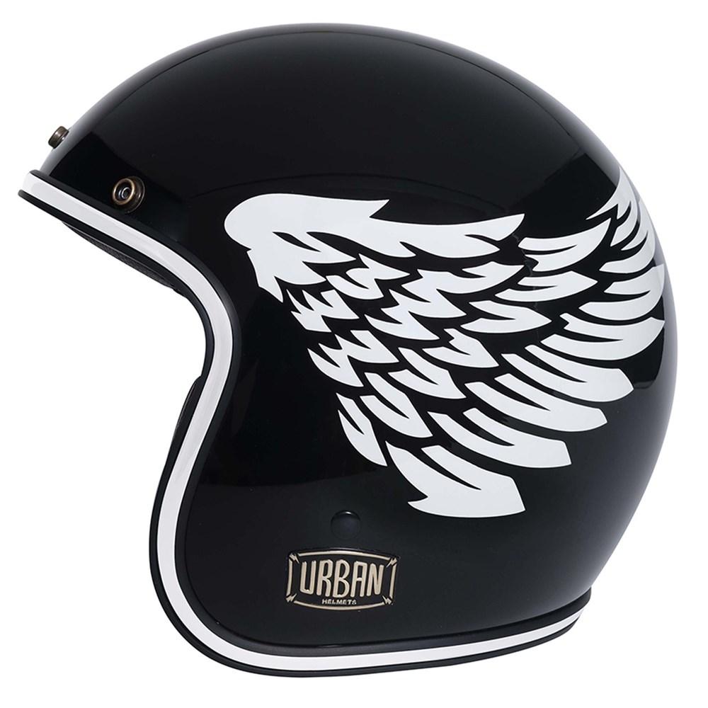 Capacete Urban Tracer Black Wings