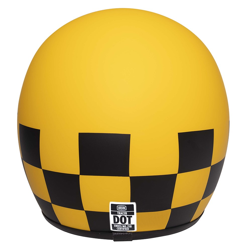 Capacete Urban Tracer Chess Rider Yellow
