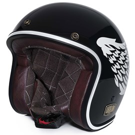Capacete Urban Tracer Double D Black Wings