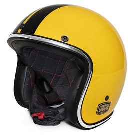 Capacete Urban Tracer Double D Yellow Racer