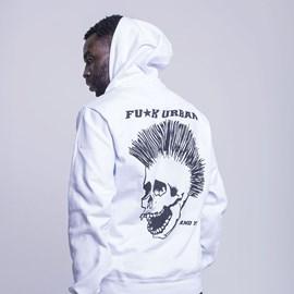 Hoodie Punk Skull