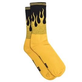 Meia Urban Yellow Fire