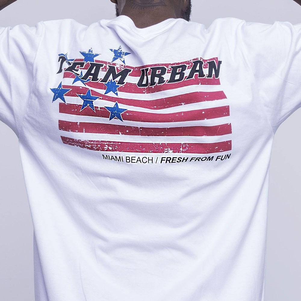 T-Shirt Team Urban Flag