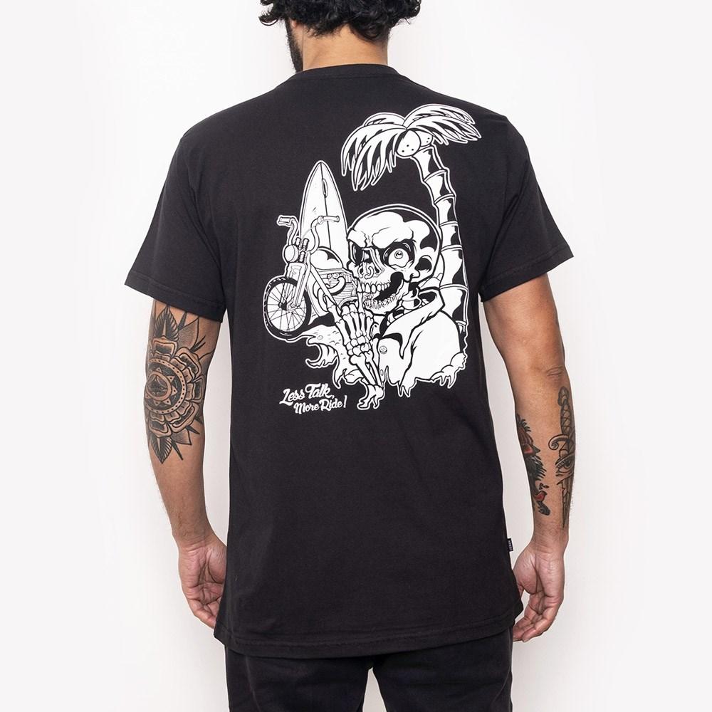 T-Shirt Urban Black Bike Tour