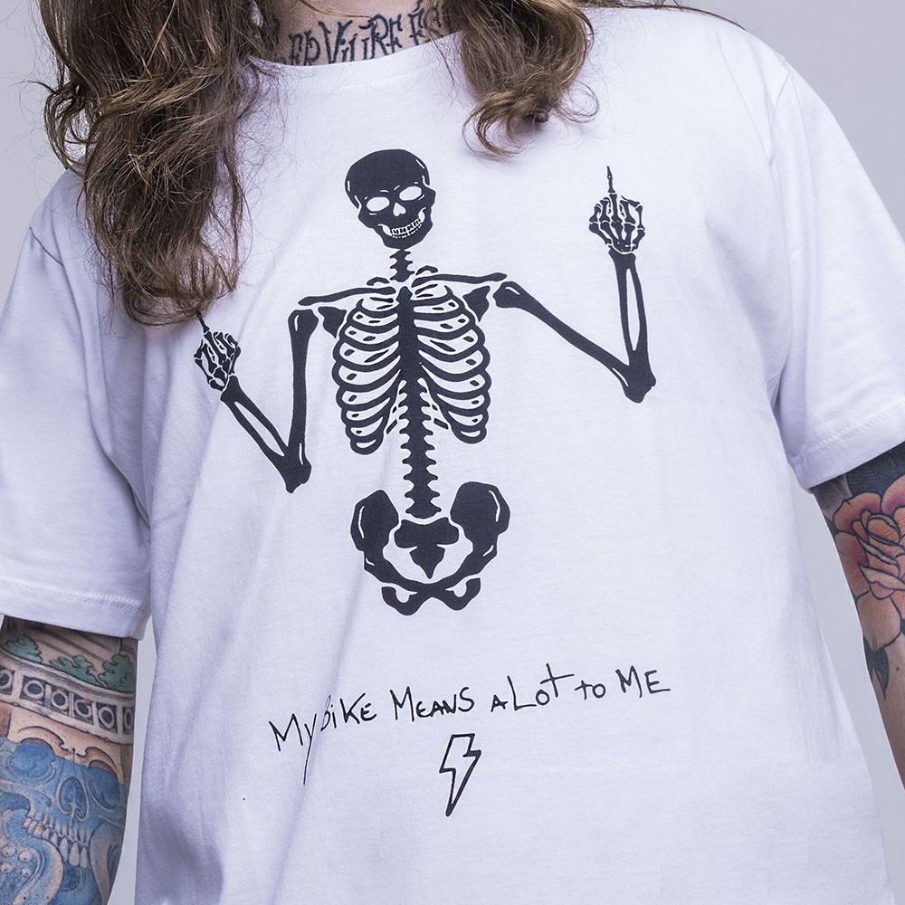 T-Shirt Urban Black Skull