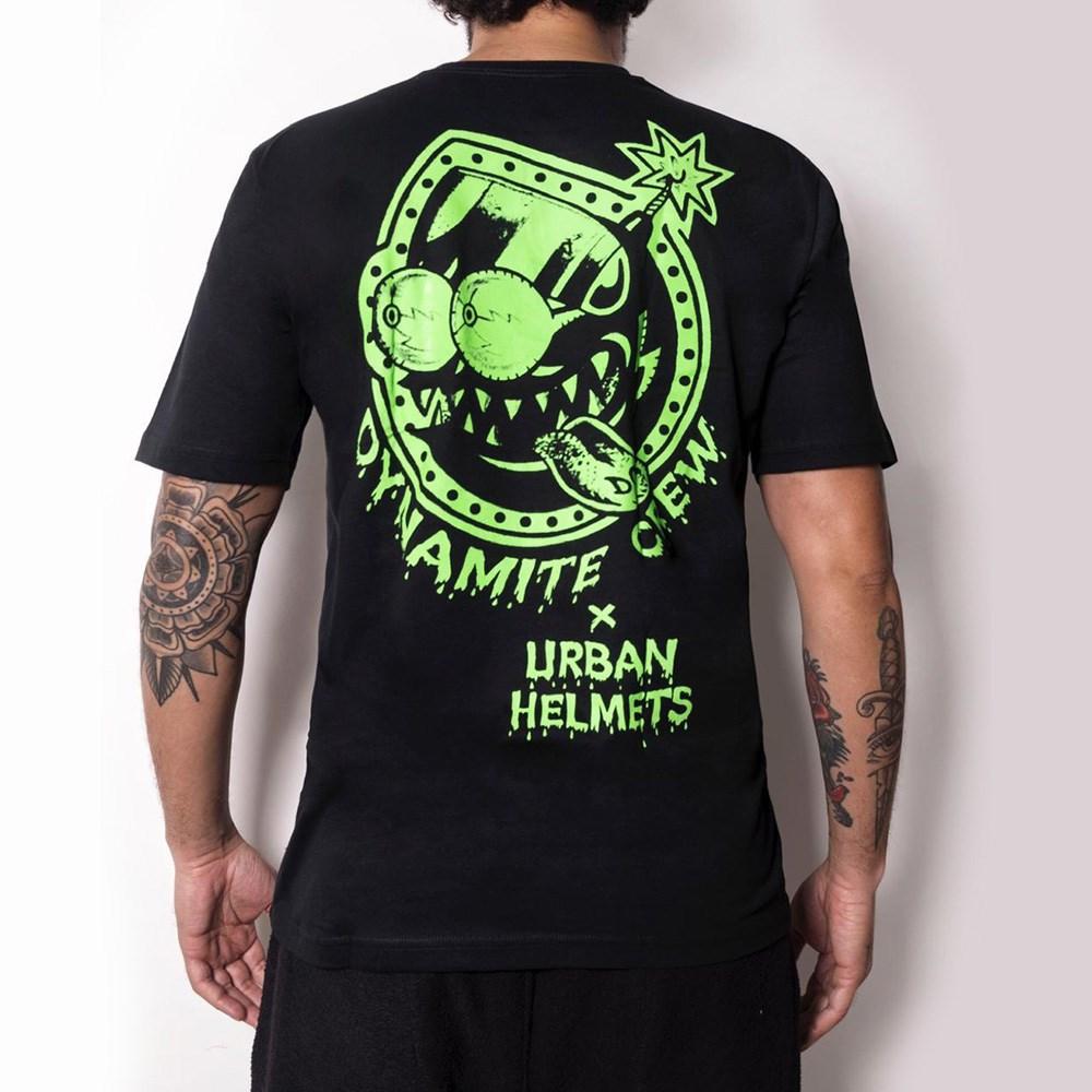T-Shirt Urban x Dynamite Bomb Green