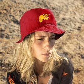 Urban Fire Skull Bucket Hat