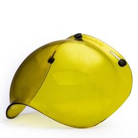 Viseira Transparente Amarela